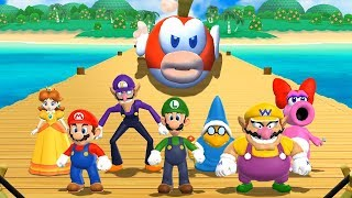 Mario Party 9 - All Silly Minigames