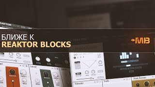 БЛИЖЕ К REAKTOR BLOCKS: MOLEKULAR [М.Мачалов]