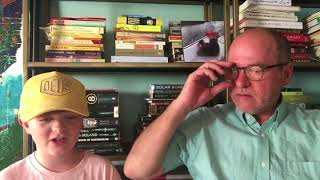 Dad Reacts to Kids See Ghosts