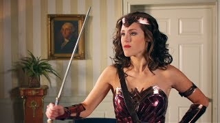 Wonder Woman vs. Donald Trump