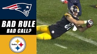 Pittsburgh Steelers Screwed by NFL CATCH Rule