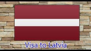 видео виза в Латвию