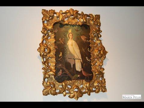 MARÍA FÉLIX Pintura MARÍA REINA DE LAS AVES 1964 || Fundación María Félix