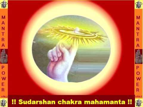 MAHA SUDARSHAN MANTRA TO COVER IN DIVINE AURA AND REMOVE  EVILSPIRIT & ENEMY.