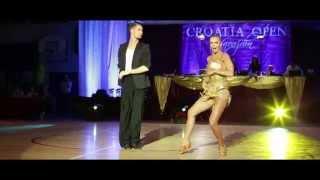 Miha Vodicar - Nadiya Bychkova | Croatia Open 2014 - Showdance #1