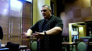 "The ""Real Rudy"", Rudy Ruettiger, Speaks @ Successful Thinkers (Part 1 of 3) - 4-13-11"