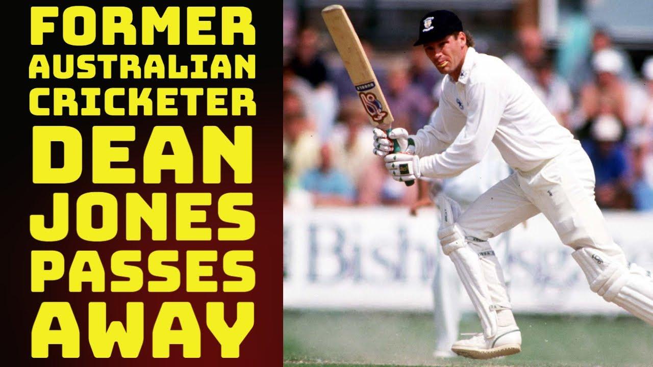 Former Australian Cricketer Dean Jones Passes Away In Mumbai Aged 59