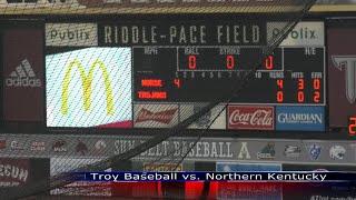 Baseball vs Northern Kentucky  - TROY TrojanVision News