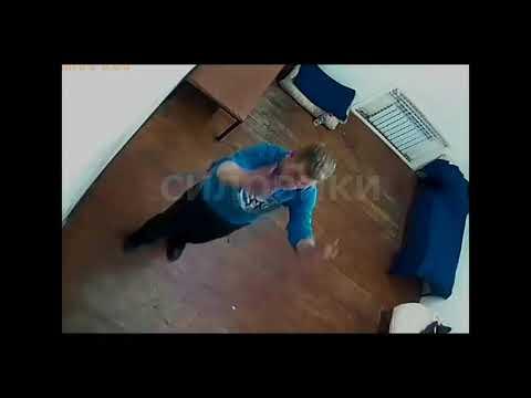 Футболист Иван Вшивков буянит в камере