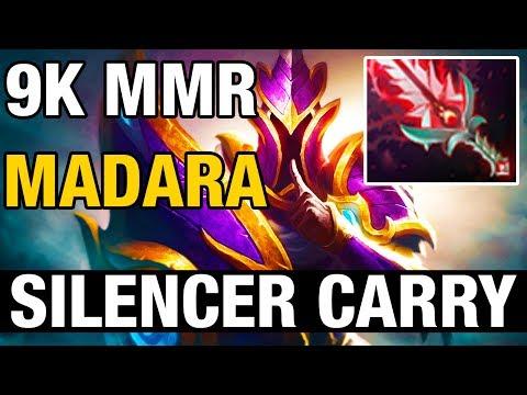 SILENCER CARRY - Madara Plays Silencer - 9K MMR - Dota 2