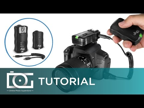 TUTORIAL | Using the Altura Photo® Wireless Triggers w/ a NIKON D5500 Camera
