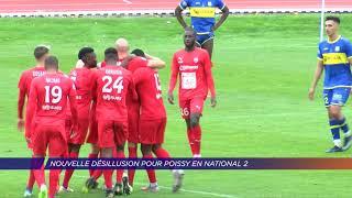 Yvelines | Nouvelle désillusion pour Poissy en National 2