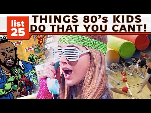 25 Things '80s