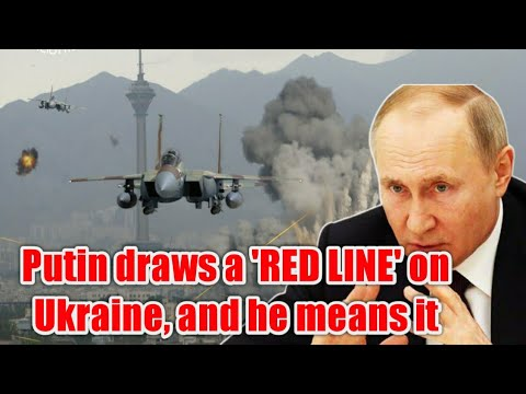 UKRAINE IS DONE: Putin draws a 'red line' on Ukraine, and he means it - YouTube
