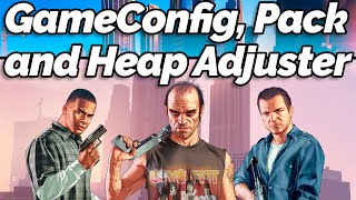 How to Install Gameconfig, PackFile Limit Adjuster and Heap Adjuster for GTA 5 (GTA Gamer)
