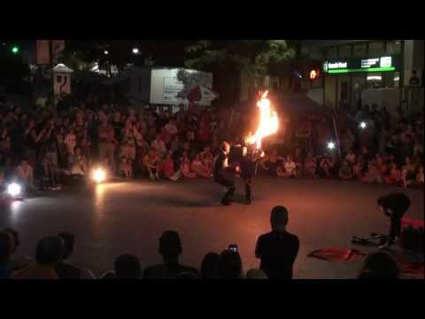 FLAME SHOW street Buskers festival