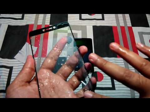 Re-Applying Tempered Glass on 2.5D Screen Due to Dust | Hindi