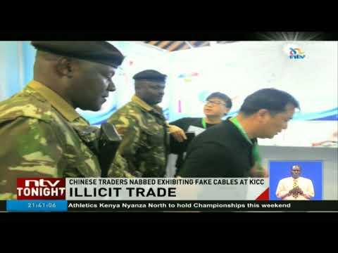 Chinese traders nabbed exhibiting fake cables at KICC