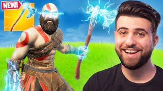 GOD OF WAR in FORTNITE!