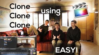 How to Clone People Using FCPX (Final Cut Pro X) EASY!