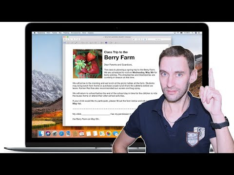 Редактирование PDF файлов на Apple Mac через Preview