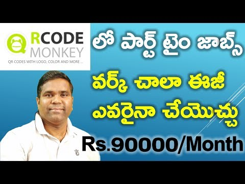 Work from home jobs on QRCODE MONKEY | H1B Visa Life in USA | Telugu Vlogs from USA