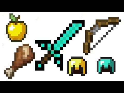 [Minecraft : Review PvP Texture Pack] ZKN Default Edit 16x16 Animations Pack