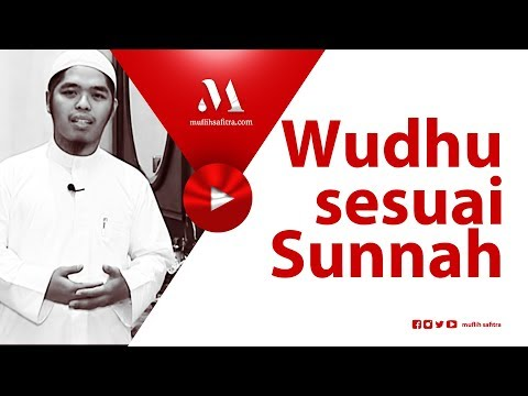 1434h-18-|-wudhu-sesuai-sunnah-|-ustadz-muflih-safitra,-m.sc