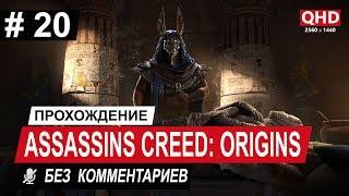 [2K] Assassins Creed: Origins | Прохождение — ЧАСТЬ 20 (Вкус Ее Жала. Старая библиотека) [60 FPS]