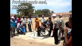 Sri Lanka's first inclusive sports project through Handicap International