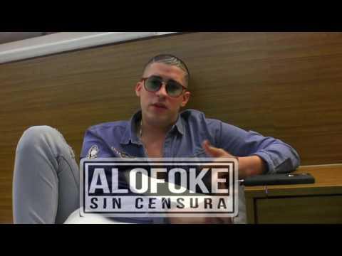 Bad Bunny habla de Anuel AA / Lapiz Conciente / Arcangel / Planes 2017 (Alofoke Sin Censura)
