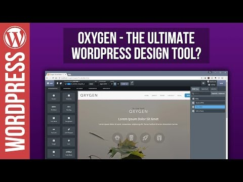 Theme oxygen wordpress