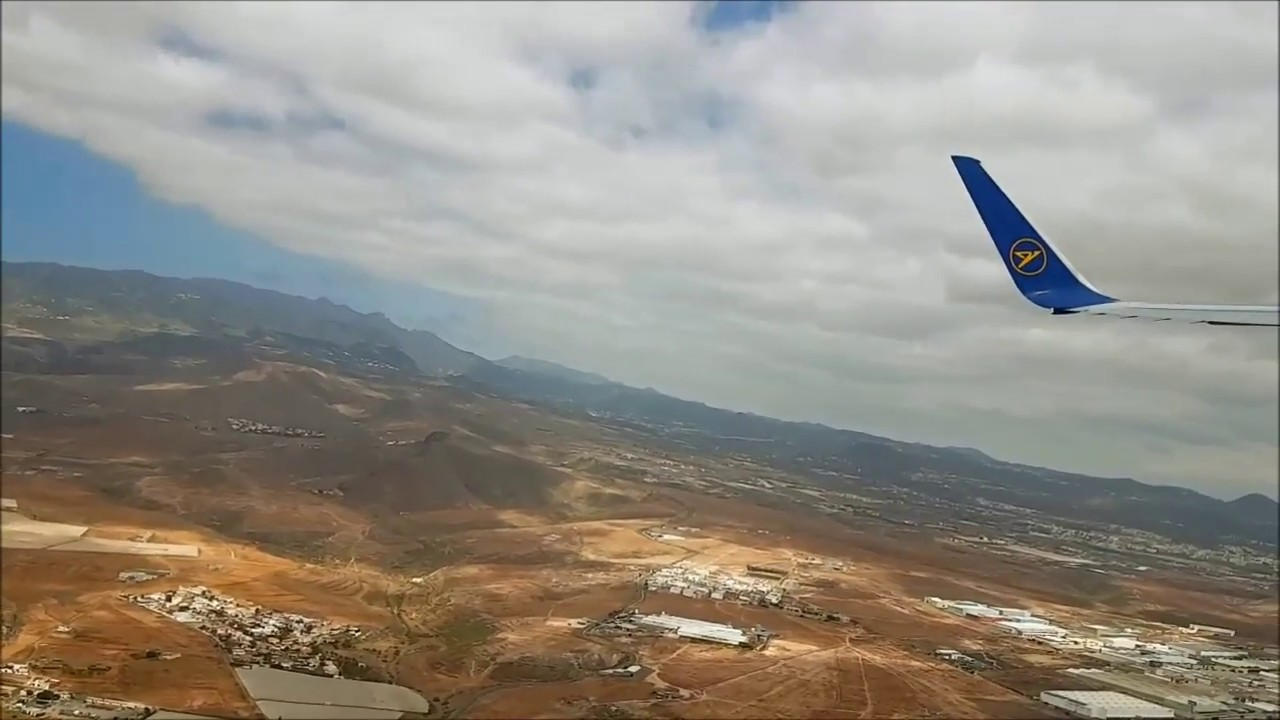 Flug Start Gran Canaria Landung Frankfurt Youtube