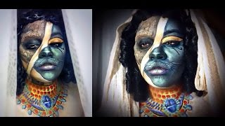 "''THE CAT GODDESS MUMMY"" Makeup + SFX"
