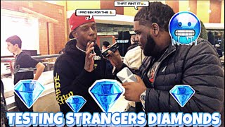 TESTING STRANGERS DIAMONDS😭💎MALL EDITION | PUBLIC INTERVIEW