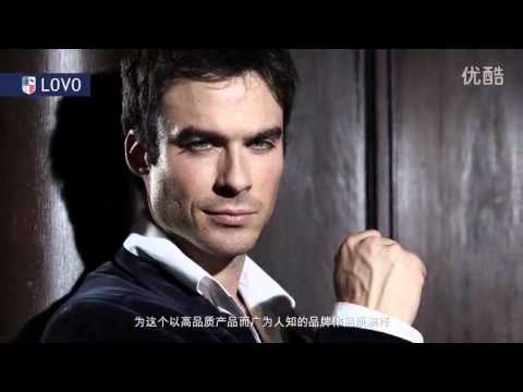 Ian Somerhalder for Luolai China LOVO-HOME