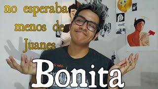 Juanes FT Sebastian Yatra Bonita REACCION