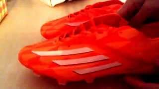 Unboxing - Aliexpress #17 - Scarpe calcio Adidas F50 shoes football soccer Adidas my coach