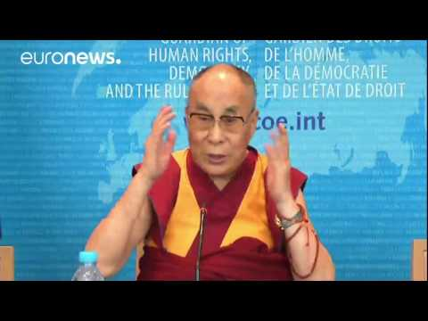 Dalai Lama full press conf. at Council of Europe