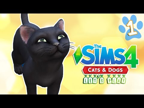 Let's Play: The Sims 4 | Cats & Dogs | Part 1 | SO CUTE!