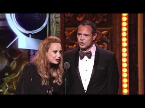 Tony Awards 2011 Acceptance Speech Tim Chappel and Lizzy Gardner