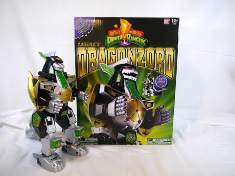 Review: Legacy Dragonzord (Mighty Morphin Power Rangers)
