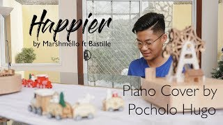 Happier by Marshmello ft. Bastille | Piano Cover by Pocholo Hugo