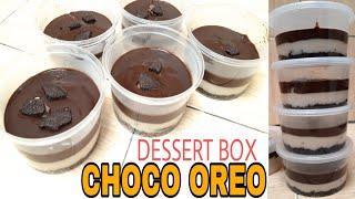 Dessert Box Choco Oreo | No Oven dan No Mixer