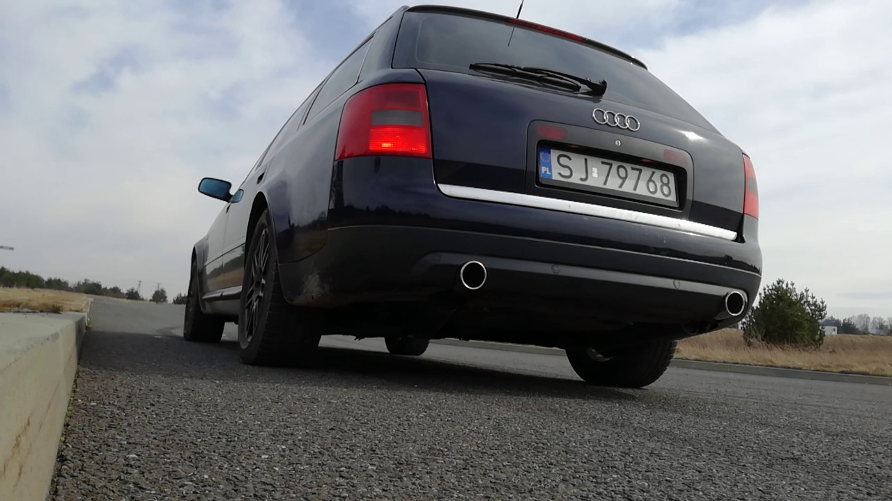 Mufflers 4 Less >> Audi A6 C5 4.2 V8 Peśla Exhaust Sound - YouTube