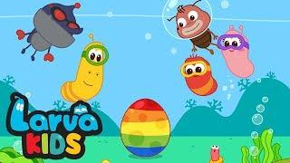 SURPRISE EGGS | EGG SONG | COMPILATION | SUPER BEST SONGS FOR KIDS | LARVA KIDS