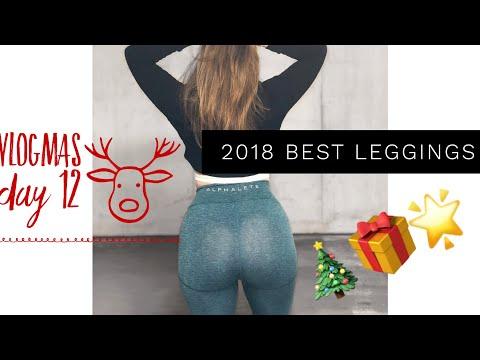 VLOGMAS DAY 12 | 2018 BEST LEGGINGS | ACTIVEWEAR GIFT GUIDE