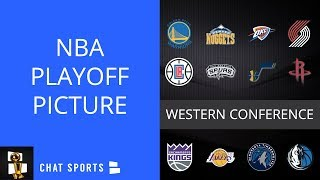 NBA Rumors: Western Conference Playoff Picture And Odds Of Lakers, Kings Making Playoffs