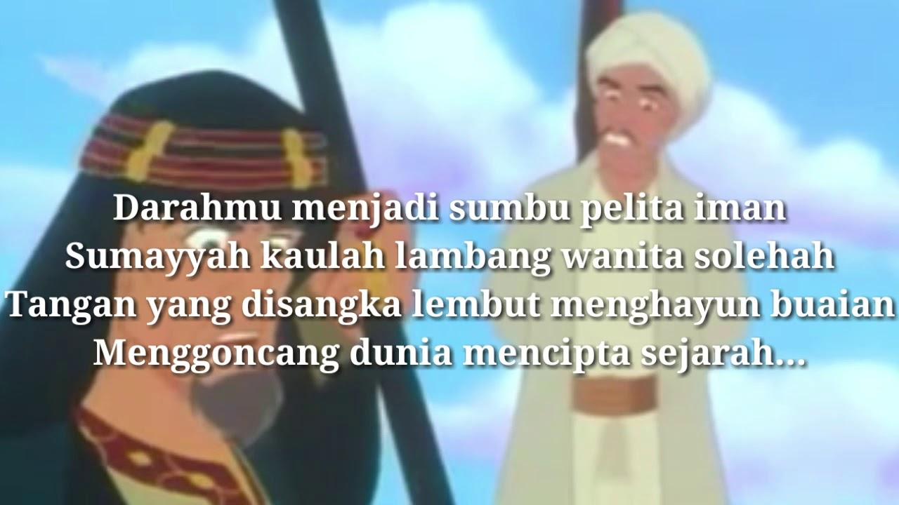 Hijjaz Sumayyah Lirik Youtube