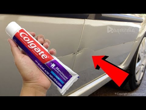 Remove Car Scratches With Toothpaste >> How To Remove Car Scratches With Toothpaste Diy Youtube